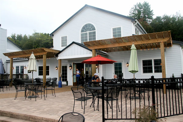 Blue Mountain Brewery's new, expanded patio and restaurant space